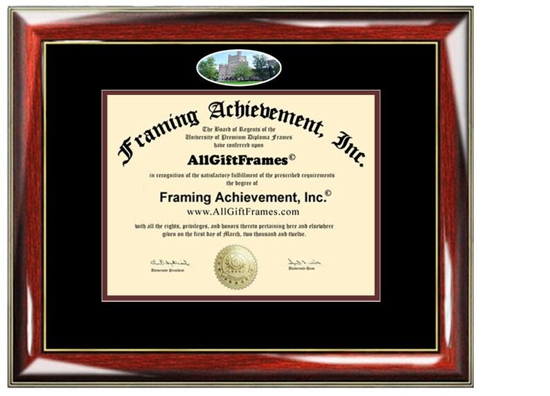 EIU diploma frame certificate Eastern Illinois University degree school picture framing campus gift graduation plaque document graduate
