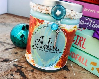 Aelin - Throne of Glass Character Candle