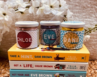 Chloe, Dani & Eve Candles (The Brown Sisters Inspired)
