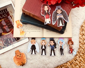 Crescent City Magnetic Bookmarks