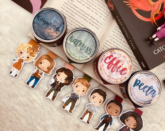 Hunger Games Candle and Bookmark Set