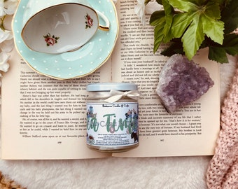 Tea Time Candle (Self Care Inspired, Drinking Tea)