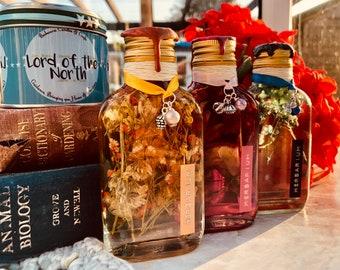 Bookish Props/Decor (Herbarium Bottles)