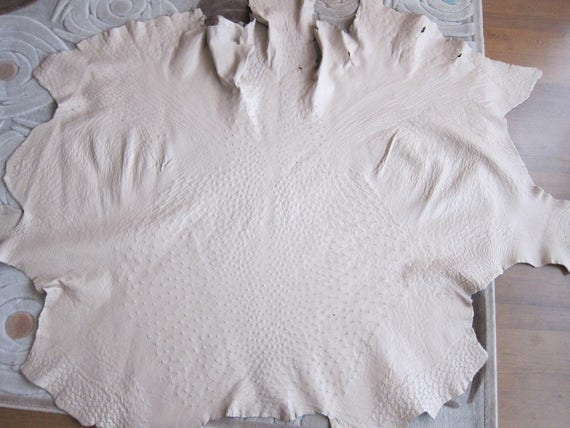 Ostrich Skin leather hide Genuine ostrich leather | Emballage Solide  043b25