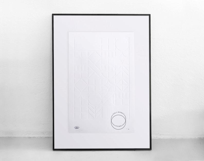 Geometry Art Print Limited Edition
