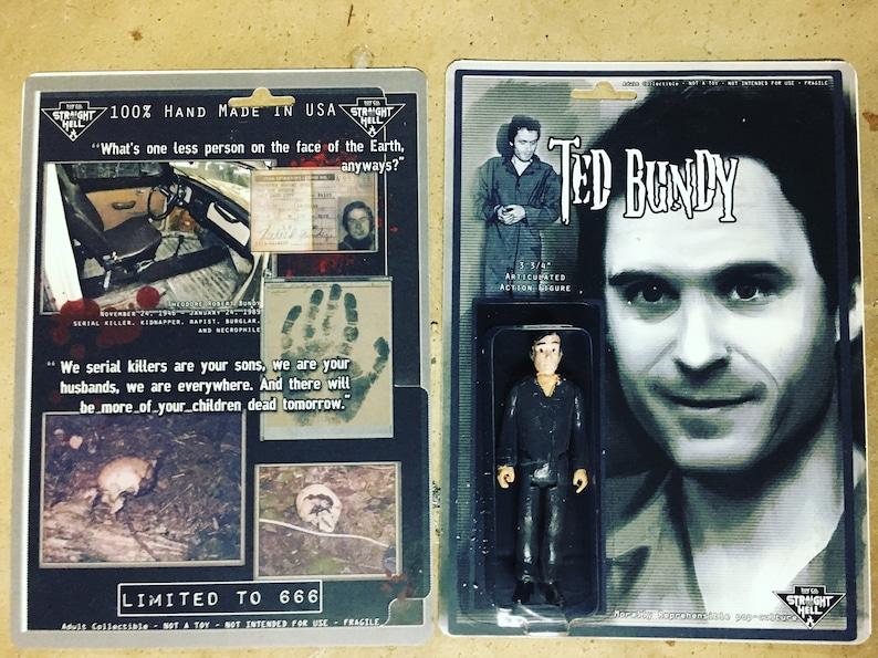 Ted Bundy action figure Straight To Hell Toyco murderbelia custom truecrime