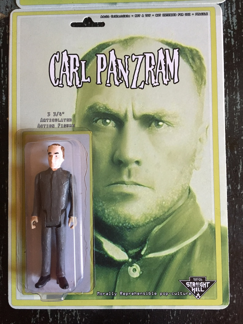 f09f950c19 Carl Panzram action figure version 1 straight to Hell toyco