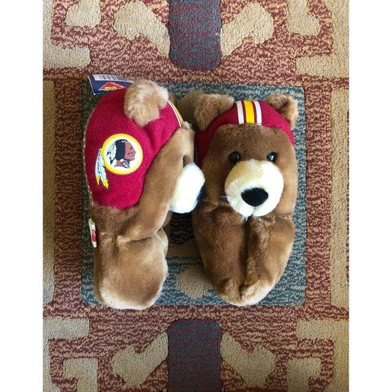 Toddler Slippers Vintage NFL Washington Redskins F
