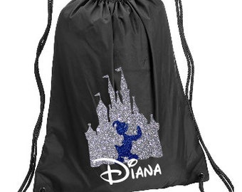 a95f586157b Donald Duck Castle Personalized bag