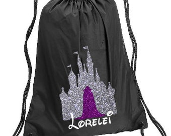 229aeb3301b Evil Queen Castle Personalized bag
