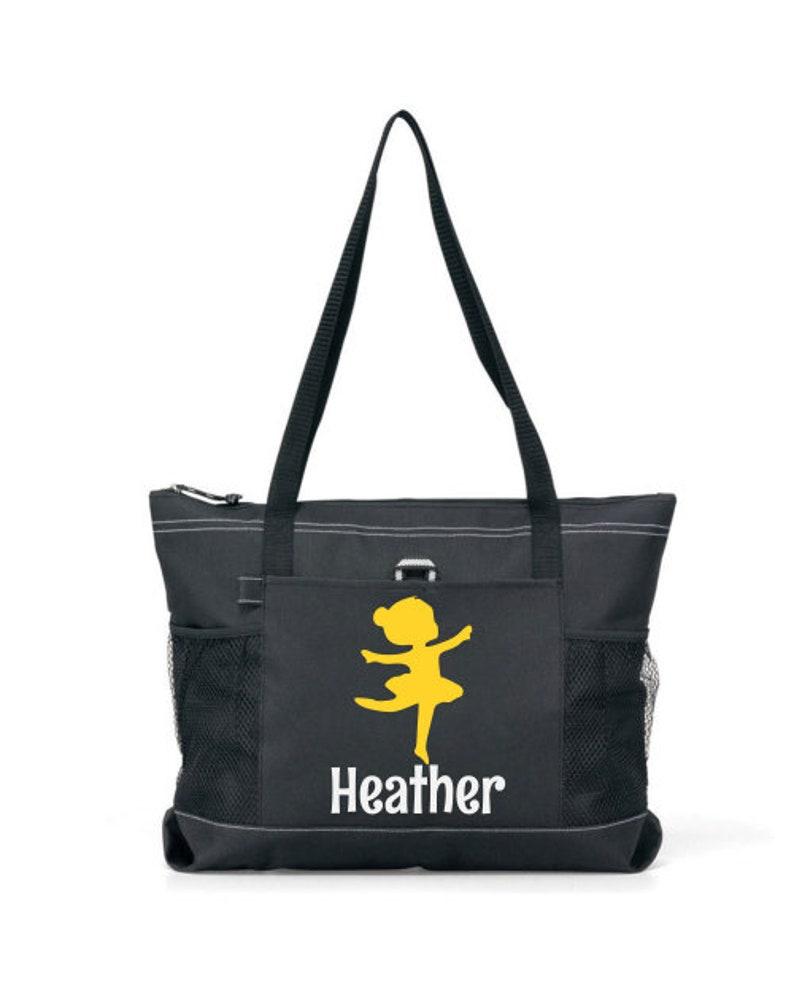 Girl Dance Tote Personalized Dance Bag Teen dance bag 08 Tween Dance bag Custom Dance Bag