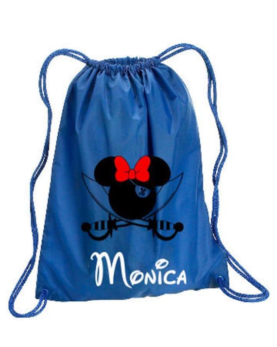 Pirate Minnie Personalized bag Minnie Backpack Disney Trip  49a29aaee4a52