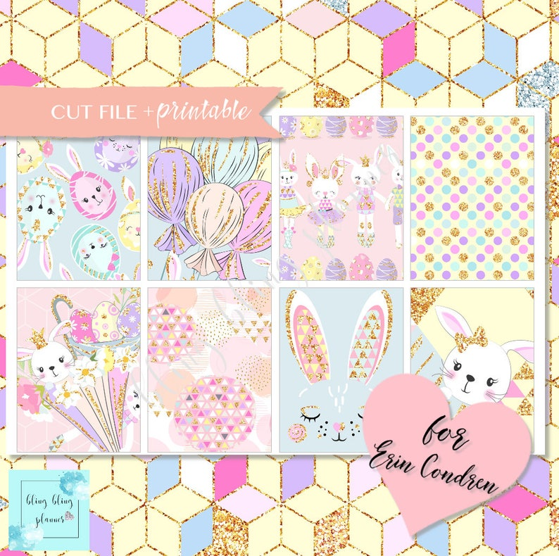 photo relating to Planner Stickers Printable referred to as EASTER PLANNER STICKERS, Printable Planner Stickers, spring planner sticker package, Easter planner package, Rabbit Stickers, lovely bunny stickers
