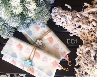 Cupcake Wallet Colors Pastel Bibri