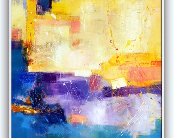 Original abstract oil painting on canvase 335