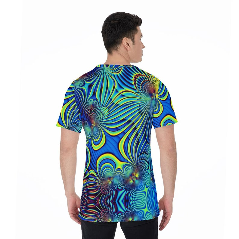 Kaleidoscopic Fractals Psychedelic LSD DMT Trippy Unisex T-shirt