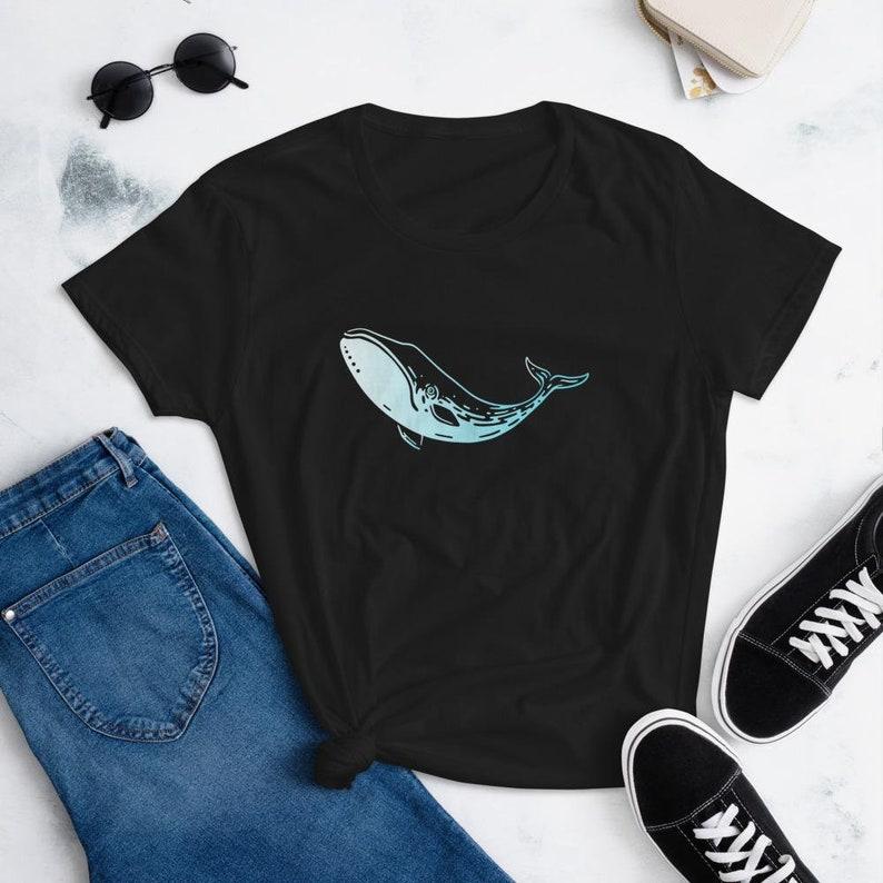 Bowhead Whale Women/'s short sleeve t-shirt