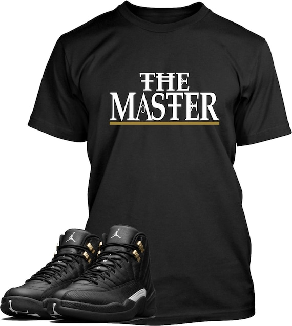477f5aa8b73939 The Master Shirt Designed To Match Air Jordan 12 Masters