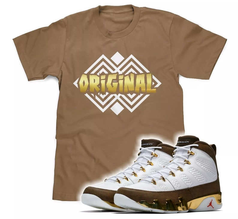 size 40 1c109 e9ea2 Original T-Shirt Made To Match The Retro Air Jordan 9 Melo MOP Sneakers