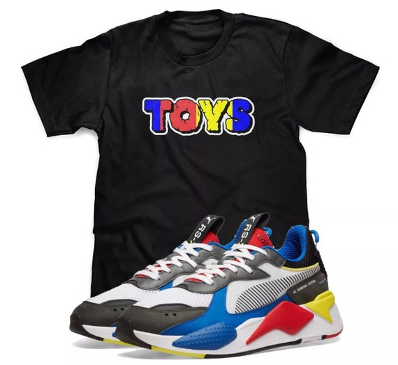 TOYS T-Shirt Designed To Match Puma Select RS-X Toys Sneakers