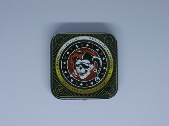 Personalisation Optional Poker Card Guard Limited Edition   Dealer Button Poker Night Deal With It