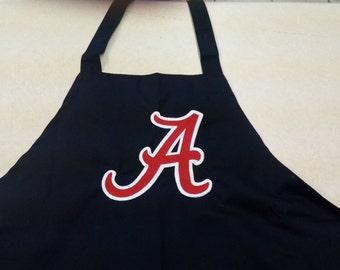 Embroidered Alabama Crimson Tide Apron