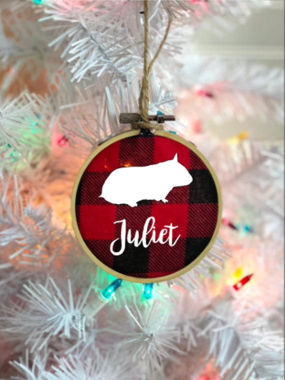 image 0 - Personalized Pet Ornament Hamster Christmas Ornament Dog Etsy
