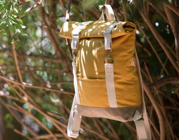 Women Backpack Rolltop