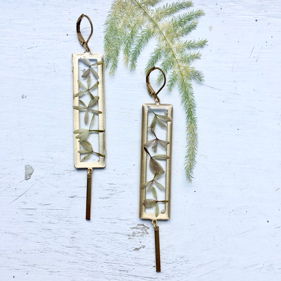 Abelia flyaway earrings