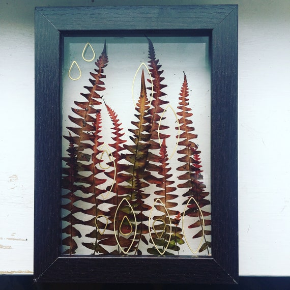 Red Fern wall hanging