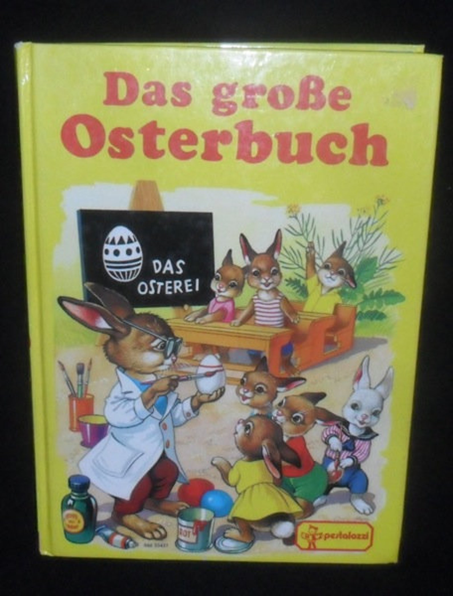 intage German Easter Childrens Book~Songs~Stories~Recipes~Easter for Children~Hard Back