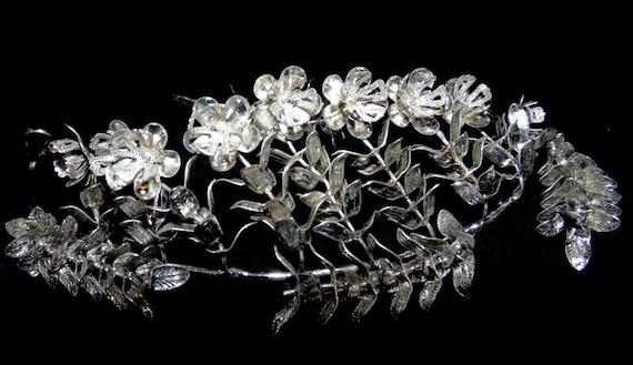 Vintage German Wedding Crown~25th Wedding Annivers