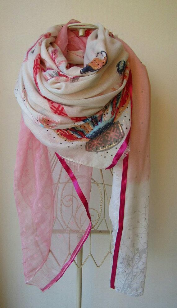 toujours populaire nouvelle saison nouveau style de 2019 Echarpe femme.Grand foulard femme.Foulard shanna.Foulard ...