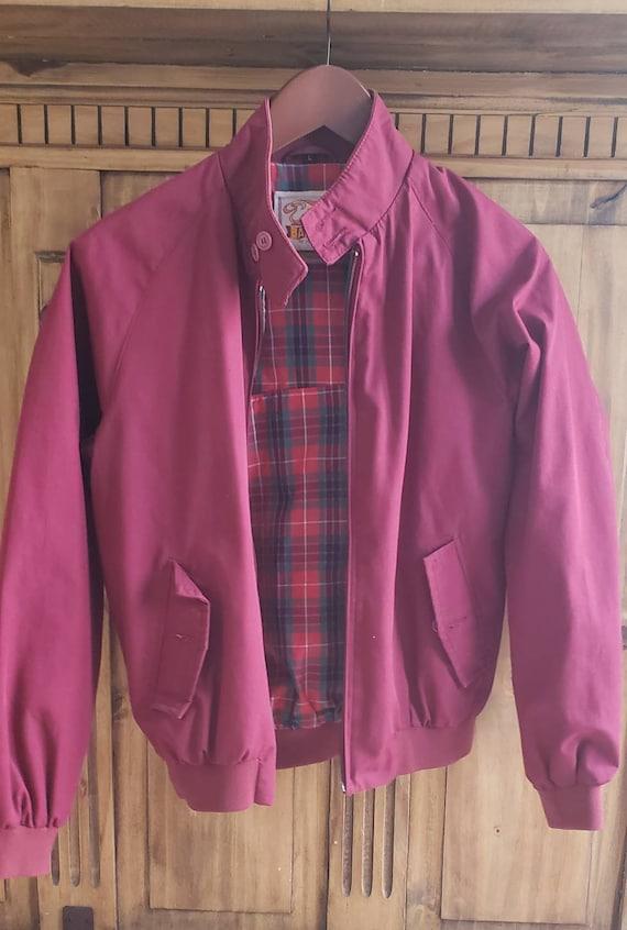 Vintage Baracuta Red Jacket