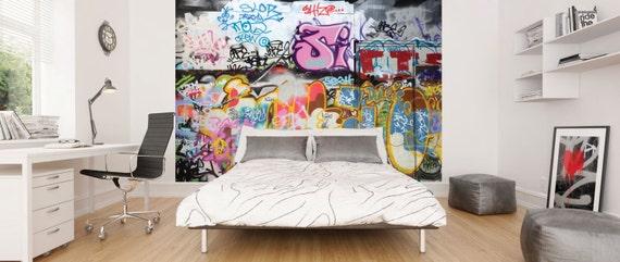 Photo Papier Peint Murale Pour Chambre Denfants Les Garcons Etsy