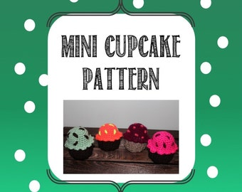 Mini Cupcake Crochet Pattern