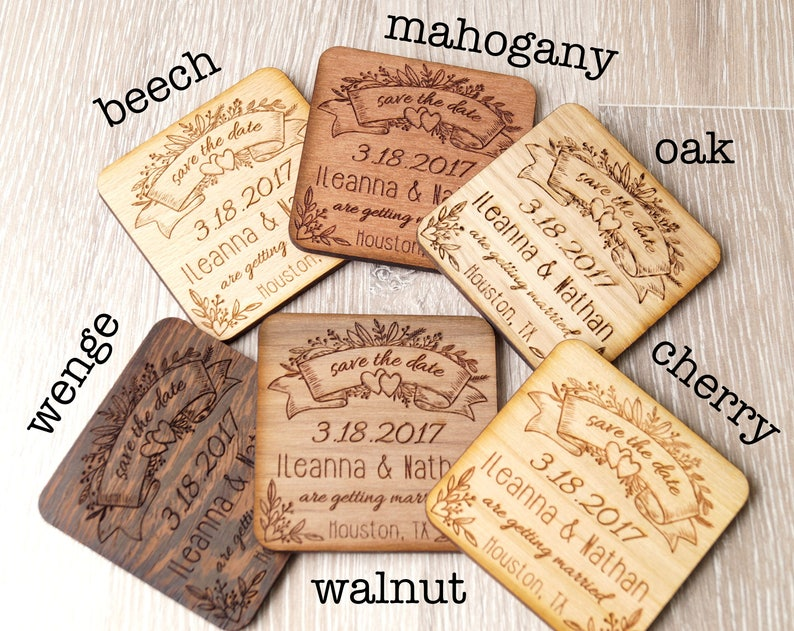 Wedding save the date magnets set of 25 wooden save the date magnets wedding magnets rustic save the dates save the dates