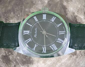 1980's Russian Mechanical Raketa Watch