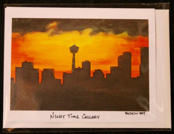 Hand made greeting cards frame able art cards calgary m4hsunfo