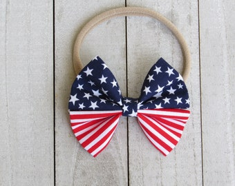 American flag bow in original style only