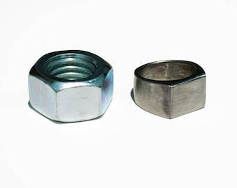 Handmade Hex Nut Ring