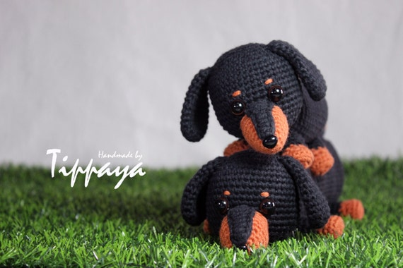 Ravelry: Boodles Dachshund FREE pattern by Laura Sutcliffe ... | 380x570