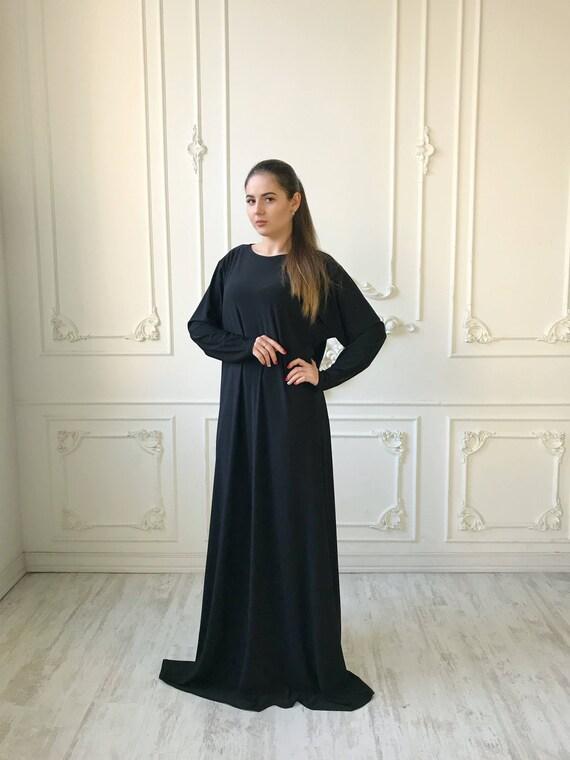 Transformer Black Khimar niqab transformer french jilbab | Etsy