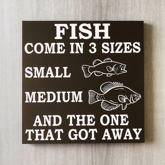Gone Fishing Signs Decor: Fishing Sign / Fishing Decor / Fisherman Sign / Funny