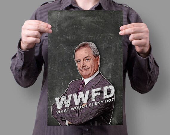 """Mr. Feeny Boy Meets World """"What would Feeny do?"""" 90's ABC TV Show 11x17 Poster"""
