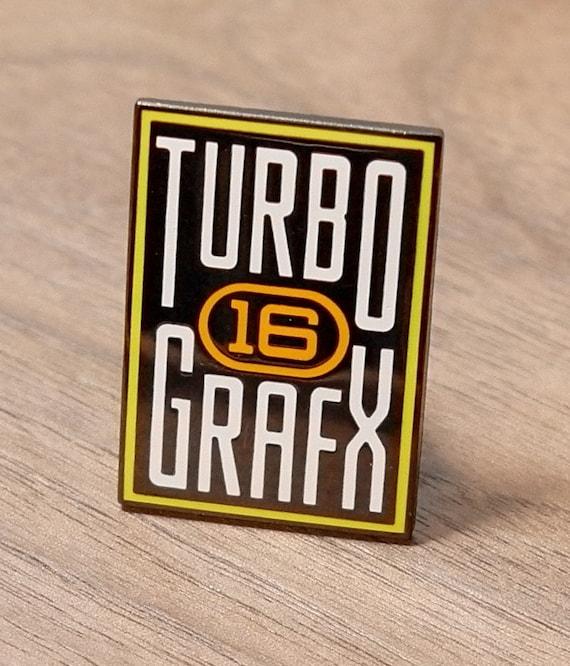 TurboGrafx 16 90's Video Game System Enamel Pin