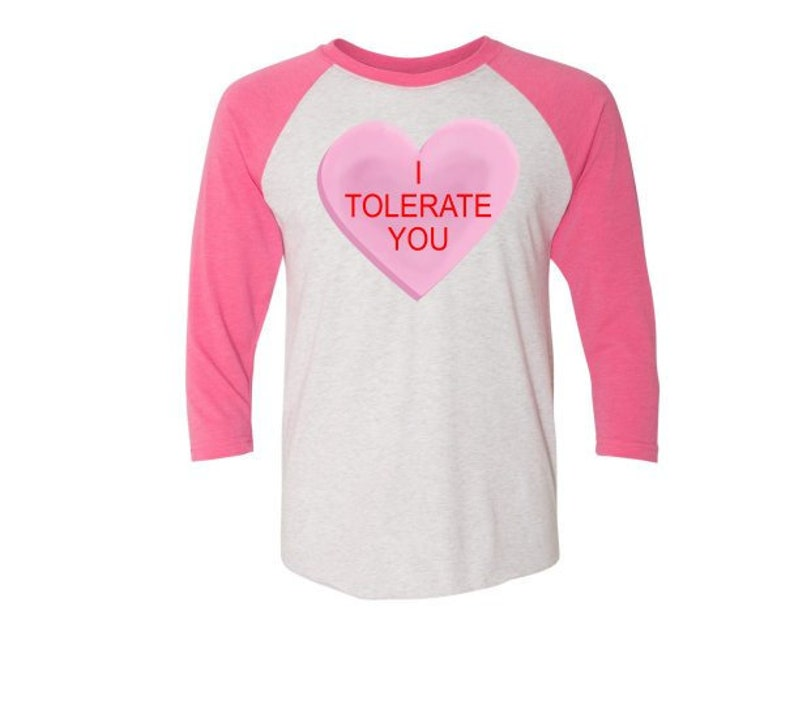 bc35ff3d7 Funny Conversation Heart Valentine's Day Shirt I   Etsy
