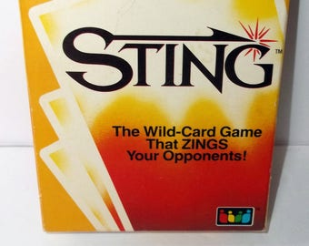 Sting Card Game. It's Rummy Gone Wild. From The Makers Of Uno. (R52)