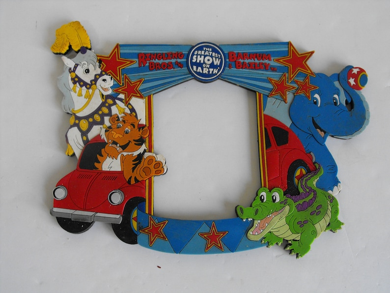 Ringling Bros and Barnum Bailey Circus Magnetic Picture Frame 2344