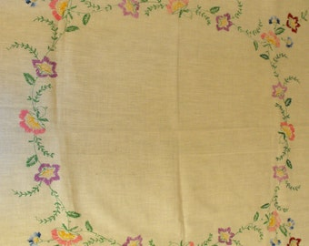 Beautiful Embroidered Table Cloth  (329)